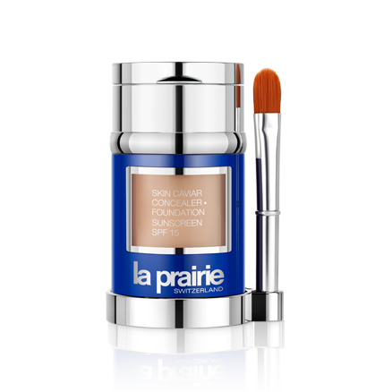 For the ultimate skin-nourishing treatment, try LaPrairie's caviar-enriched foundation (Photo: LaPrairie)
