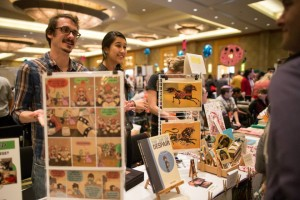 Cartoonists will gather this weekend in North Bethesda at Small Press Expo. (Photo: Small Press Expo)