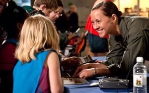 The National Air and Space Museum celebrates women in aviation and space on Satruday. (Photo: Dane Penland/National Air and Space Museum)