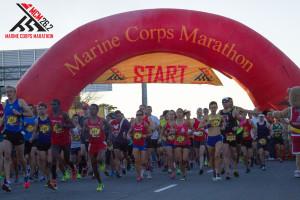 The Marine Corps Marathon is back on Sunday beginning at 7:55 a.m. (Photo: Marine Corps Marathon)The Marine Corps Marathon is back on Sunday beginning at 7:55 a.m. (Photo: Marine Corps Marathon)