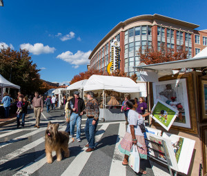 Artists will fill the streets of Bethesda Row this weekend. (Photo: ehpien/Flickr)