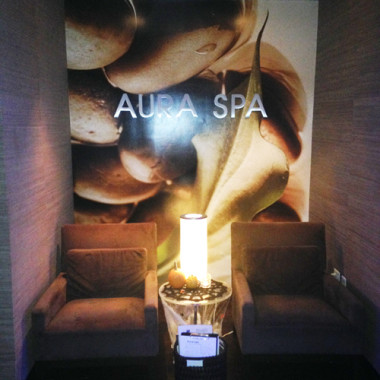 Aura Spa held an open house last week (Photo: Lia Phipps/DC on Heels)