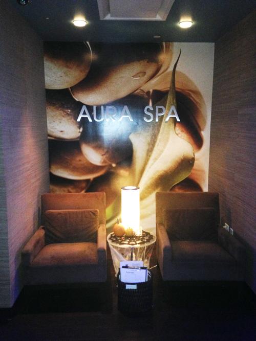 Aura Spa held an open house last week (Photo: Lia Phipps/DC on Heels)