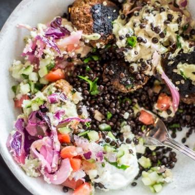 Cava Grill's new fall menu includes black lentils. (Photo: Cava Grill)