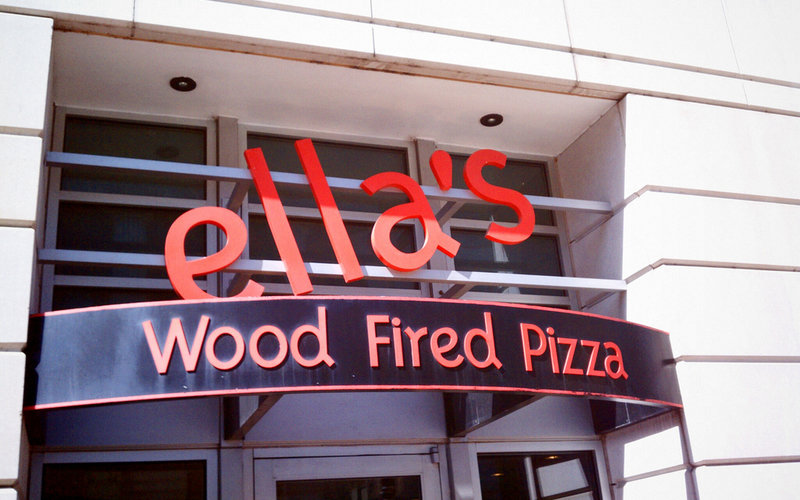 Ella's Wood Fired Pizza will have Oktoberfest specials Tuesday through Thursday. (Photo: Downtown D.C.)