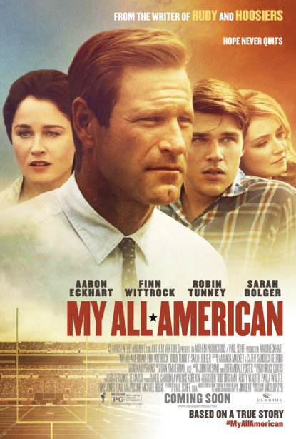 Get free tickets to a preview screening of <em>My All American</em> Thursday at Regal Majestic. (Photo: Clarius Entertainment)Get free tickets to a preview screening of <em>My All American</em> Thursday at Majestic Regal. (Photo: Clarius Entertainment)