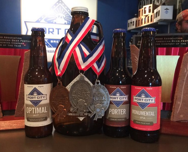 Port City Brewing Co. took home five awards from the Great American Beer Festival recently. (Photo: Port City Brewing Co.)