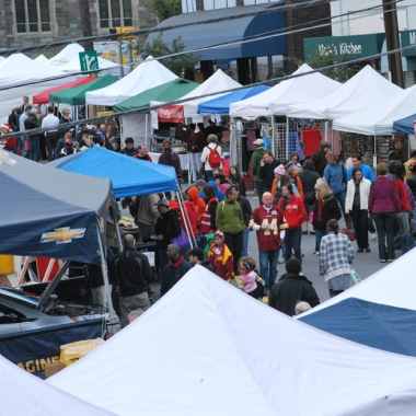 The Takoma Park Street Festival will fill Carroll Avenue in Takoma Park to Carroll Street in Takoma. (Photo: Julie Wiatt)