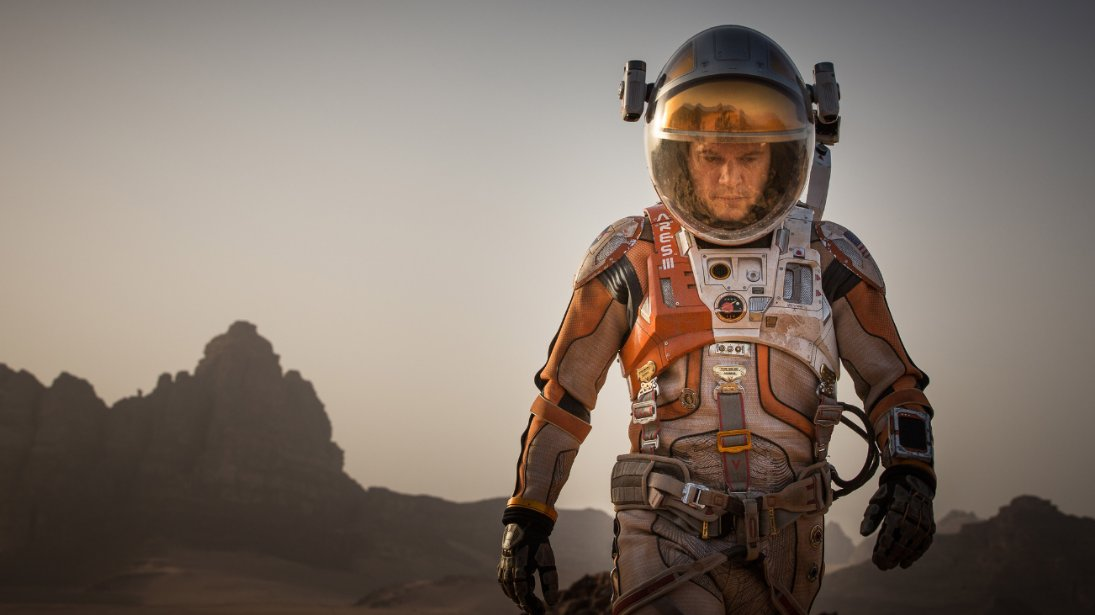 """The Martian,"" starring Matt Damon, had the second largest October debut ever. (Photo: 20th Century Fox)"