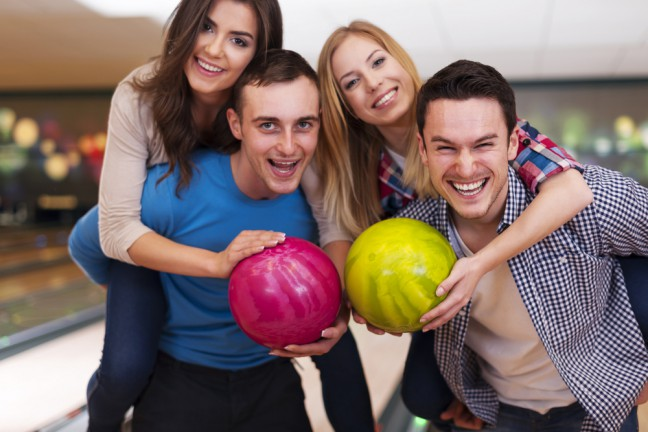 Double date, double balls, sounds like fun! (Photo: www.cafemom.com)