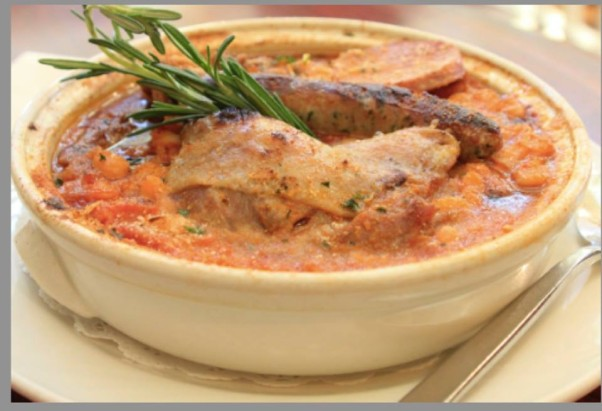 Saturday's plat du juor at Praline is cassoulet. (Photo: Praline/Facebook)