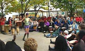 A drumming and rhythm festival will be held in Greenbelt on Saturday. (Photo: Greenbelt Drum and Rhythm Festival)