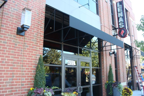 Lena's Wood-Fired Pizza & Tap open today in the Rosemont section of Alexandria. (Photo: Mark Heckathorn/DC on Heels)