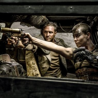 Tom Hardy (left) and Charlize Theron star in