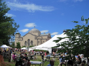 Get your fill of Greek food, beer, wine, culture and art at St. Sophia Greek Orthodox Cathedral's Greek Festival this weekend. (Photo: mbell1975/Flickr)