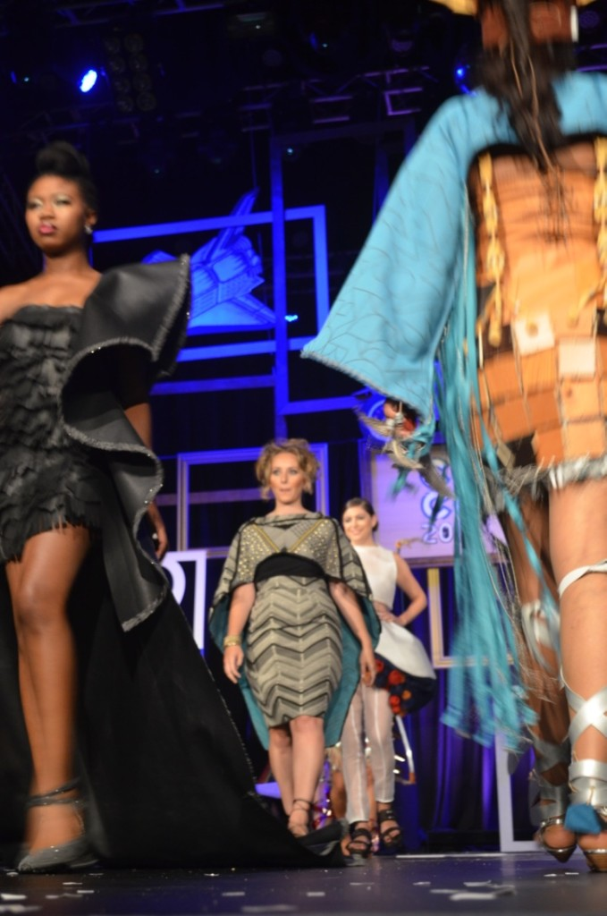 This year's Cosmo Couture entries lived up to the haute couture label (Photo: Scott Steinke)