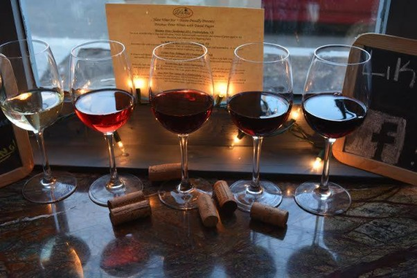 Slate has 160 different wines on the menu. (Photo: Slate Wine Bar + Bistro)