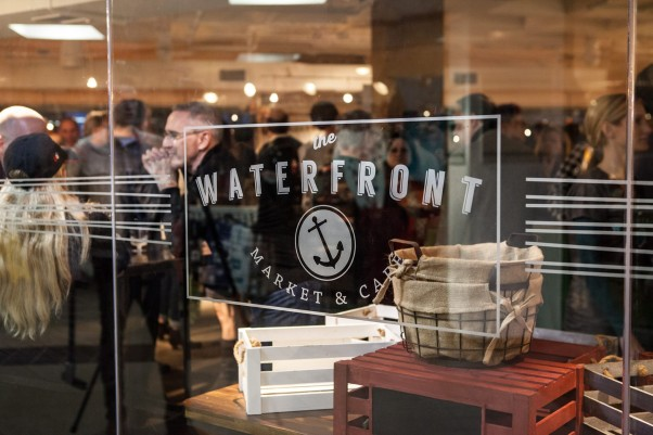 Waterfront Market & Cafe has closed and will reopen in the spring as a casual, seafood restaurant from Alexandria Restaurant Partners. (Photo: Moxie Sox Photography)