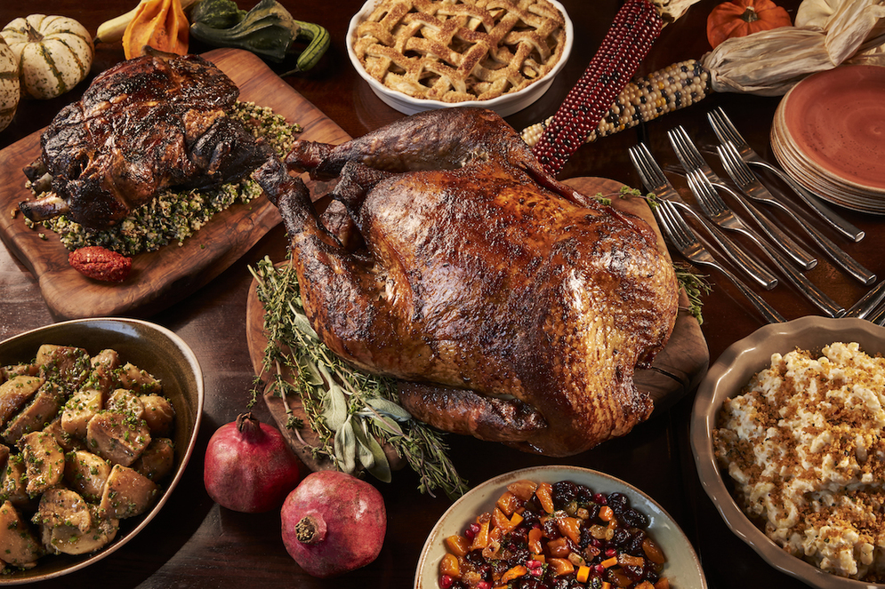 Area restaurants offer to cook the turkey dc on heels for What restaurants are serving thanksgiving dinner