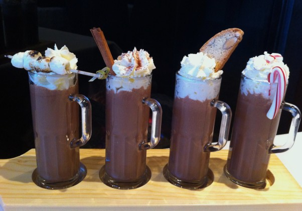 Met Bethesda in the Westfield Montgomery mall will serve tied shoppers a hot chocolate quartet beginning Black Friday. (Photo: Met Bethesda)