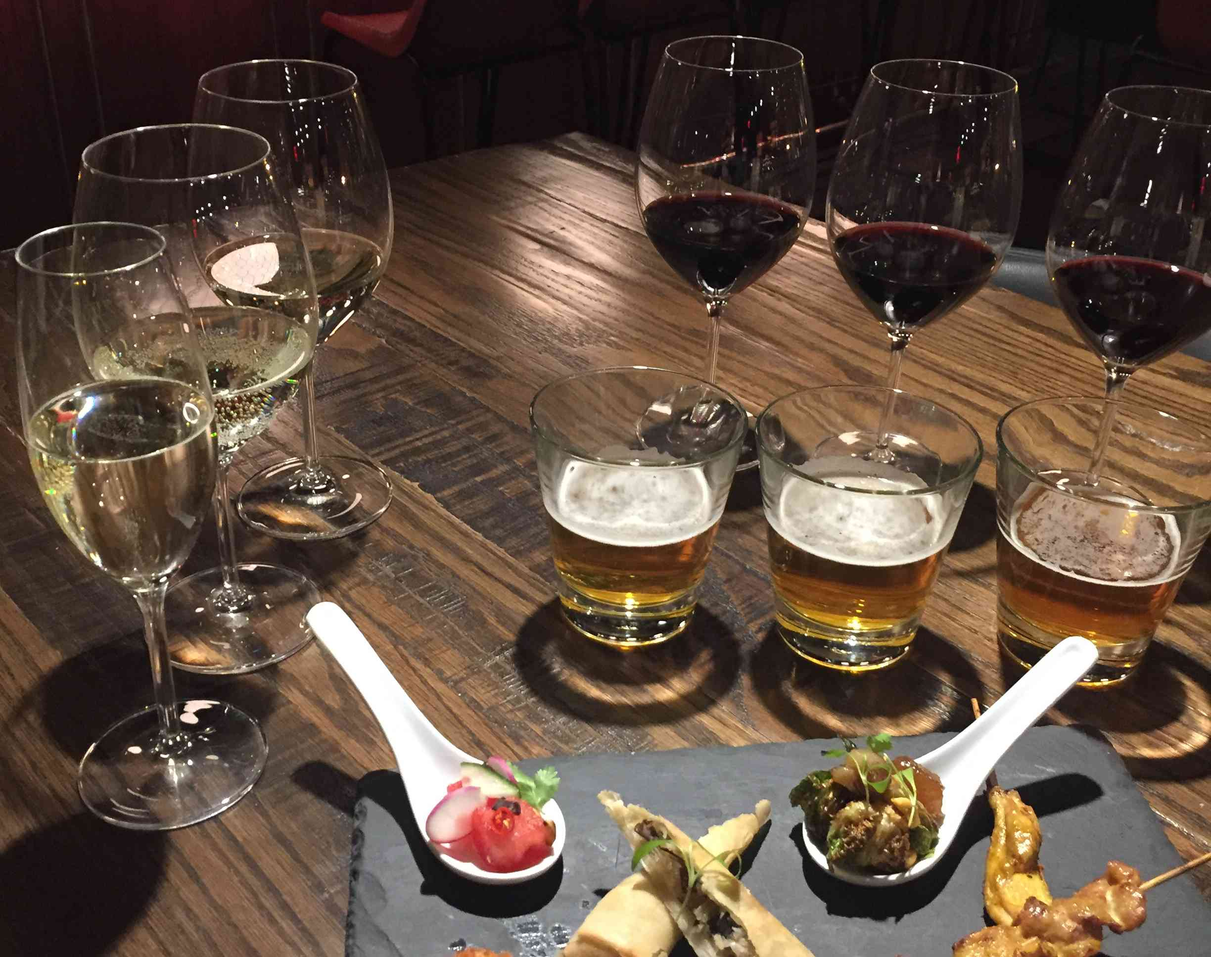 "Mango Tree's ""Flights Above the Crowds"" specials are available Mondays at the upstairs bar. (Photo: Mango Tree)"