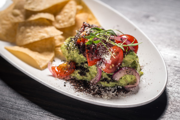 A grasshopper guacamole is on El Centro D.F.'s Destination Oaxaca menu. (Photo: El Centro D.F.)