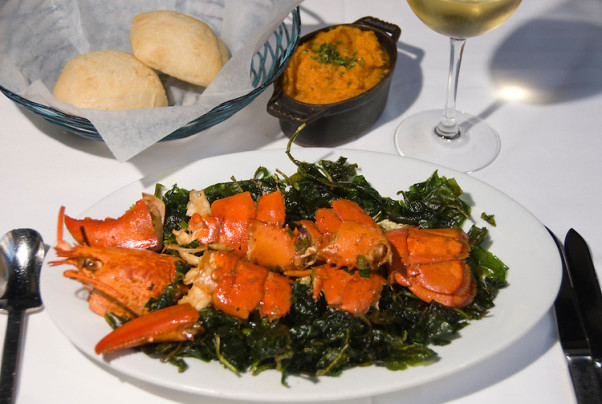 The smoked lobster has been on the menu since D.C. Coast opened. (Photo: Lee Foster)