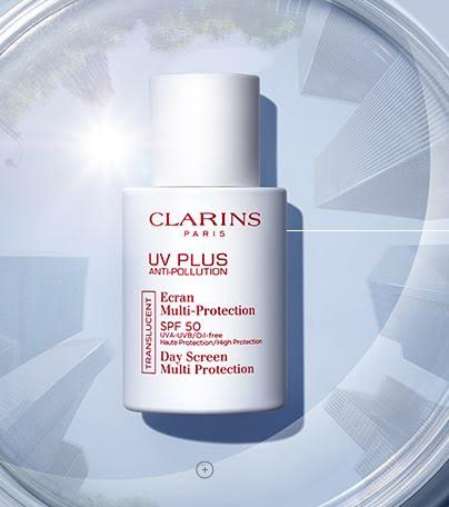 Clarins UV Plus helps protect your skin from pollution and the sun during the day. (Photo: Clarins)