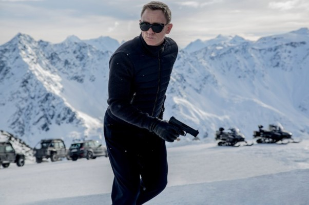 Daniel Craig as James Bond in <em>Spectre</em> knocked the box office competition out. (Photo: MGM/Columbia Pictures)