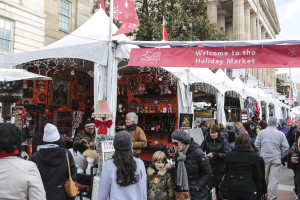 The Downtown Holiday Market in Penn Quarter outside the National Portrait Gallery is now open from noon-8 p.m. daily. (Photo: Downtown Business Improvement District)The Downtown Holiday Market in Penn Quarter outside the National Portrait Gallery is now open from noon-8 p.m. daily. (Photo: Downtown Business Improvement District)