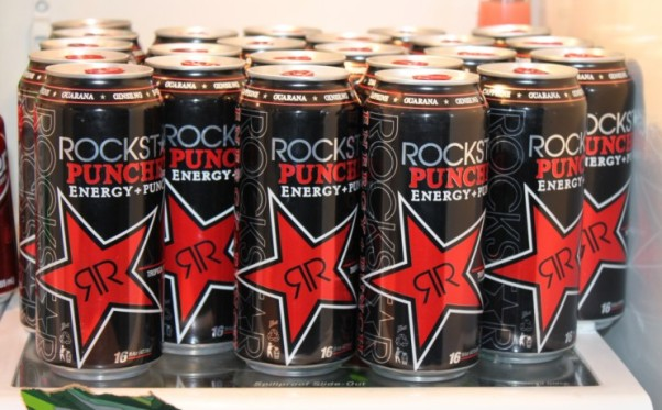 Study participants' blood pressure rose 6.4 percent and their their norepinephrine levels increased 73.6 percent after drinking just one Rockstar energy drink. (Photo: Purple Is Pretty)