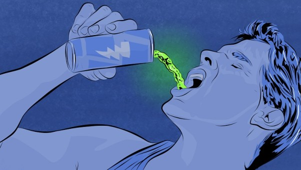 A Mayo Clinic study showed energy drinks could lead to heart problems. (Illustration: Sam Wooley)