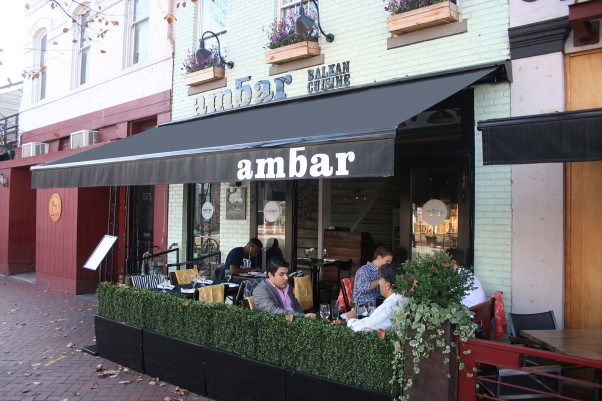 Ambar, near the Marine Barracks, is now serving a light, healthy lunch menu. (Photo: Mark Heckathorn/DC on Heels)