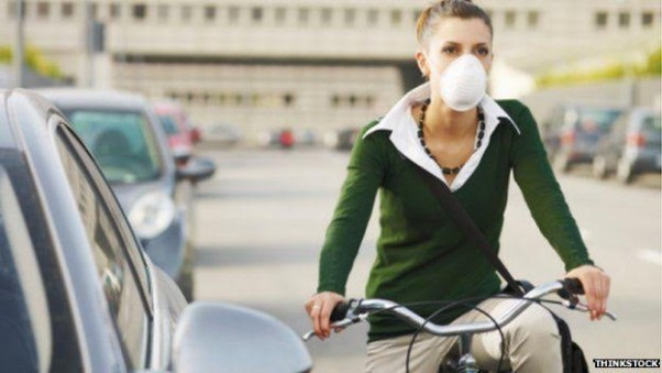 Airborne pollution is the second most damaging item after the sun to your skin. (Photo: Thinkstock)