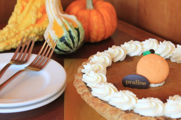 Praline Bakery & Bistro will be open Thanksgiving morning selling pies to serve at home and in the afternoon serving dinner. (Photo: Praline Bakery & Bistro)