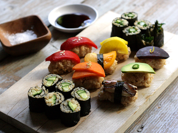 Sushiko is now offering a nine-course vegan tasting menu with advance reservations. (Photo: Sarah Gim)