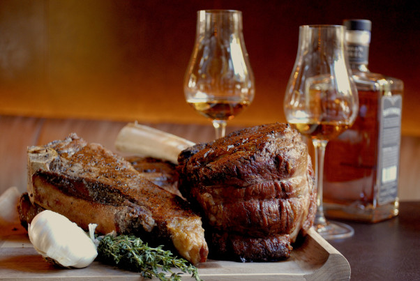 Bourbon Steak will offer a bourbon and steak tasting beginning Dec. 5. (Photo: Bourbon Steak)