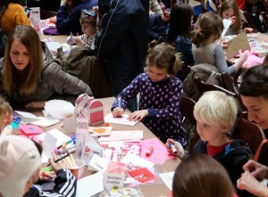 Visitors can make holiday cards Saturday at the National Postal Museum. (Photo: National Postal Museum)