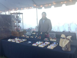 A vendor at Rosslyn's Holiday Market Festival. (Photo: Rosslyn BID)