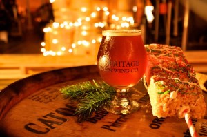 Heritage Brewing Co. will hold and Ugly Christmas Sweater Party on Saturday. (Photo: Heritage Brewing Co./Facebook)