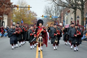 The 45th annual Scottish Walk Parade is Saturday in Old Town. (Photo: Campagna Center)