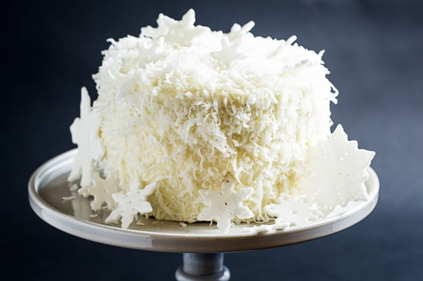RareSweets is baking holiday cakes including this  vanilla bean cake with spiked eggnog buttercream. (Photo: Scott Suchman)