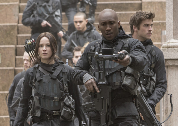 """The Hunger Games: Mockingjay - Part 2"" led the box office for the third consecutive weekend. (Photo: Lionsgate)"
