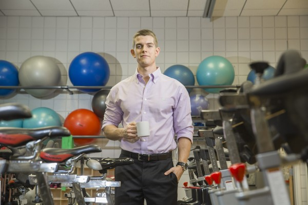 The University of Georgia's Simon Higgins is studying caffeine — particularly from coffee — and how it may improve endurance performance. (Photo: Peter Frey/University of Georgia)