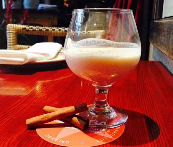 Cuba Libre in Penn Quarter is serving  El Coquito, a Cuban eggnog.  (Photo: Cuba Libre)
