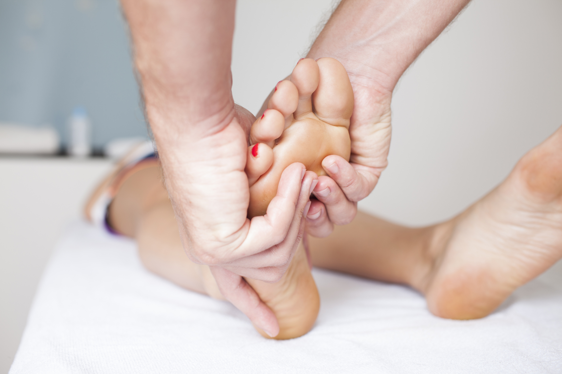 Reflexology promotes deep relaxation and improves circulation throughout the entire body.(Photo: Getty Images)