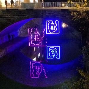 Georgetown Glow wraps up this weekend. (Photo: Aparna Krishnamoorthy)