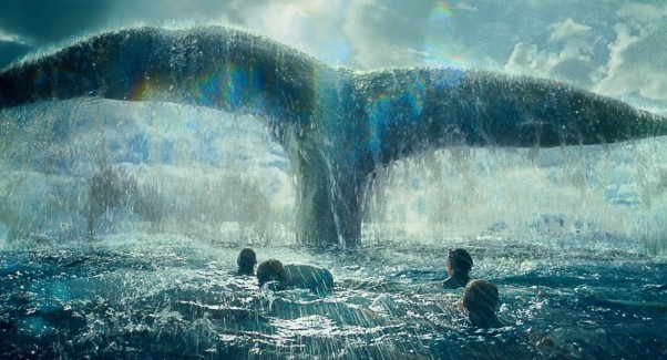 <em>In the Heart of the Sea</em>, Ron Howard's Moby Dick movie, can in a disappointing second. (Photo: Warner Bros. Entertainment)