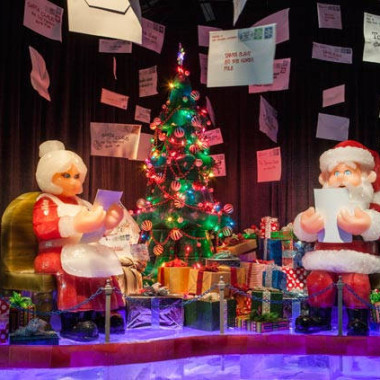This year's Ice! theme is Santa Claus Is Comin' to Town. (Photo: Gaylord National Resort and Convention Center)