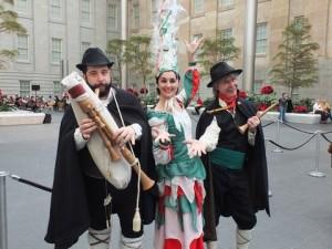 The Italian Fairy will perform at the Italian Family Festival Saturday. (Photo: Smithsonian American Art Museum)